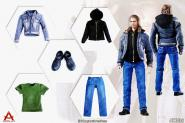 1/6  Male Casual Wear Set