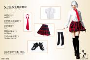 School Girl dress  Set 1/6