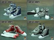 Canvas Shoe Blue Male