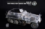 SDKFZ 250 in Metal Winter edition in 1/6