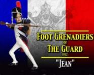 Jean Foot Grenadiers of The Guard 1812