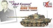 1:72 Dragon Armor 1:72 King Tiger, Alfred Kurzmaul