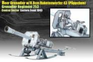 8,8 Raketenwerfer Püppchen Winter Ausführung