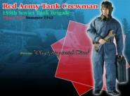 Oleg Grigorievich Titov, Russian Tank Crew Man