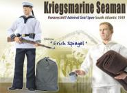 """1/6 """"Erich Spiegel"""" - Kriegsmarine Seaman"""