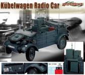 Kübelwagen der Wehrmacht - in einer Exclusive Version als Funkwagen