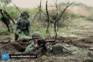 Georg Puller USMC MG Gunner
