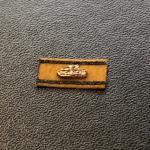 Panzervernichtungsabzeichen 1/6 Gold  mit kupferfarbenen Panzer