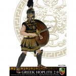 Warriors - Greek Hoplite (Transverse Crest Version)