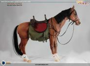 Asmus Collectible - The Brown Horse (CRE001) - Horse in 1:6 scale