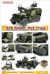 SAS Raider Willys Jeep 4x4 .Bausatz
