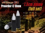 7.5cm Ammo - Full Set