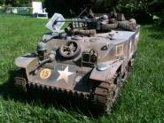 M5 Stuart der britischen 29th Armoured Brigade, Normandy