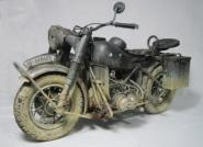 BMW R75, Handmade, Metal, with Light