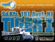 1:72 Michael Wittmann Tiger I - sSSPzAbt101 - Tiger East Front 1944