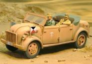 1:30 Steyr 1500 Rommel Command Car
