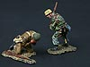 WWII: Knockout Blow (2 figs - FJ & British Paratrooper) Normandy Version
