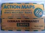 1/6 Maps german Normandie (3 Maps)