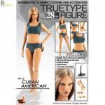 TrueType Figure body - Cuban American Female
