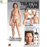 TrueType Figure body - Caucasian Male (Narrow Shoulder)