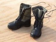 Vietnam Boots Leder Jungle Boots. Canvas and leather
