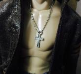 Halskette Kreuz 1/6
