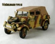 Kübelwagen in Metal Limited Edition Used Optic