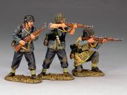 Luftwaffe:Three assorted Luftwaffe riflemen.