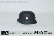 M35 Stahlhelm in Metal Elite