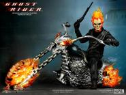 GHOST RIDER WITH HELLCYCLE