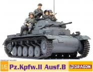 Panzer Pz.Kpfw.II Model KIT 1/6