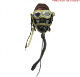 Pilot Cap Headgear + Oxygen Mask""
