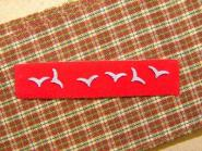 Luftwaffe Neck Scarf & Collar Tabs Rank Gulls ( set of six )in 1/6