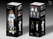 ZC Girl Boxset White Archer 1/6 Fully posable action figure