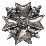 Spanienkreuz in Metal  1/6