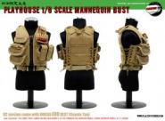 1:6 Omega EOD Vest (Tan) mit Body West