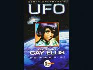 Leutnat Gay Ellis von UFO mit Sprach Chip