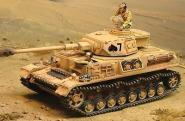 1:30 The Collectors Showcase Afrika Korps Cs00435 German Pzkfw Iv Tank Mib