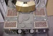 Tiger I Motor Abdeckungs Set 4 Stk