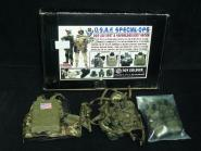 Toy Soldier USAF AWS LBV WEST Safariland Body Armor woodland