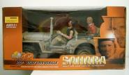 Willys Jeep MB (Sahara) 1/6 mit Figuren