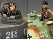 WWII German Forces: Tank Commanders #2