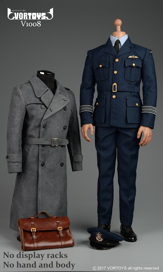 Dragon Models De 1 6 Wwii Raf Pilot Uniform Set Online