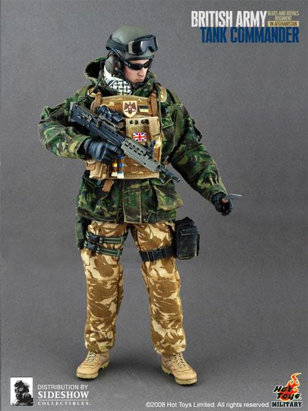 1//6 Hot Toys British Army Lieutenant Knee Pad