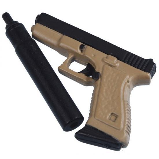 Dragon-Models.de | Glock 19 Pistol mit Schalldampfer ...