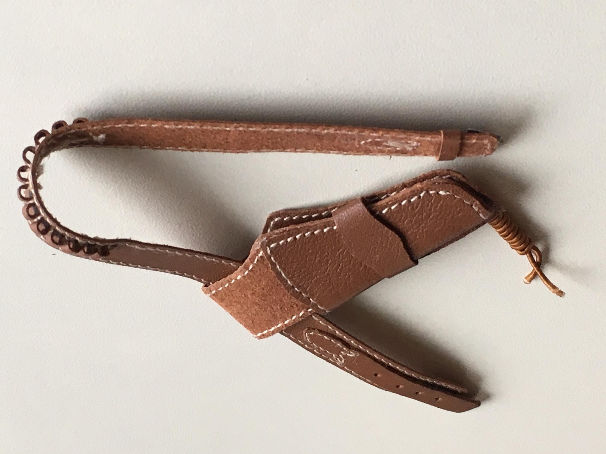 Leather Single Duke Style Rig Cowboy