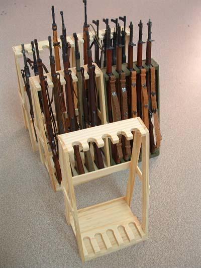 Dragon Models De Holz Racks F 252 R Gewehre Aus Holz